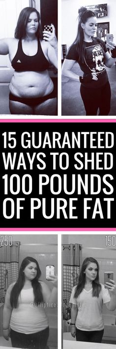 15 surefire ways to get rid of any unwanted body fat for good.