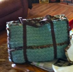 Crochet Baby Diaper bag....The Baby Bag.....Jake and Jill Baby and Tot Designs
