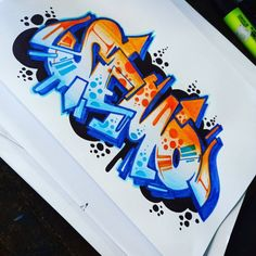 Graffiti Names, Graffiti Piece, Love Graffiti, Graffiti Doodles, Graffiti Writing, Graffiti Designs, Graffiti Artwork, Graffiti Alphabet, Graffiti Lettering