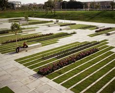 Deichmann Square Green City Park | Chyutin Architects