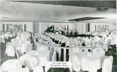 Springfield, Illinois. The Lake Club. Courtesy of Sangamon Valley Archives and Springfield Rewind.