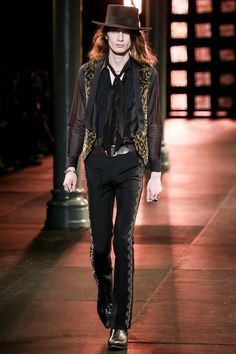 "Seriously Ruined: RUNWAY: Saint Laurent | ""Psych Rock's New Rising."""