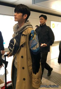Ong Seongwoo, Canada Goose Jackets, Winter Jackets, Camera Phone, Coat, Kpop, Wallpaper, Artist, Baby