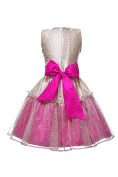 Raw silk, french lace, lush bow that ties at the back or front - for more sophisticated look Dress Outfits, Girl Outfits, Dresses, Girls Designer Clothes, Girls Party Dress, French Lace, Mini Me, Spring Summer 2016, Girls Shopping