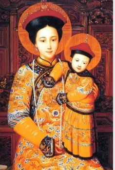 Virgen con Niño China