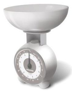 Salter Orb Kitchen Scale - Orb - White by Salter. $13.00. This retro style mechanical kitchen scale features an oversized dial for easy viewing. The weig.... Capacity: 6 pounds 8 ounces/3 kilograms with 1 ounce/25 gram precision. Colour/Pattern: White. Sold individually. This retro style mechanical kitchen scale features an oversized dial for easy viewing. The weighing bowl is removable for easy cleaning. Size: 3 kgColour/Pattern: WhiteCapacity: 6 pounds 8 ounces/3 kilograms w...