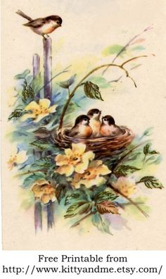 From my personal collection of vintage greeting cards.  Please feel free to print it for your crazy quilt and other craft projects! http://www.kityandme.etsy.com/