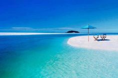 If you intend to spend some calm & serene time, then you can consider visiting Whitehaven Beach, #Australia.