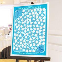 リゾートウェディングにぴったり♡貝殻のメッセージボードは一生の記念品♡ ウェディングメッセージ寄せ書きボード一覧♪