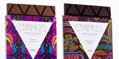 Compartes Chocolate Bars - World Series — The Dieline | Packaging & Branding Design & Innovation News