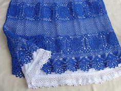 """Начала вязать юбку """"Влюблённая в море"""", размер 48, нитки 100% мерсеризированный хлопок, крючок № 1. Видео будут добавляться по мере продвижения работы, так ч..."""