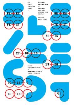 Poster design for Number6 Art & Culture Collective. © Studio Sarp Sozdinler