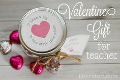 Valentine Gift for a Teacher | Lil Mrs. Tori