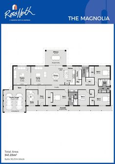 Ross North Homes The Magnolia Floor Plan