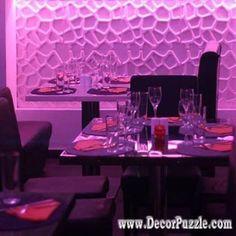 decorative wall panels, 3D wall decor ideas