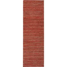 @Overstock.com - Hand-woven Nome Natural Fiber Hemp Rug - Introduce a bit of warmth into the room with this reversible natural fiber rug, which comes in your choice of four colors. Featuring a stripe pattern that blends in with well most types of decor, the rectangular carpet is ideal for a hall or entryway.  http://www.overstock.com/Home-Garden/Hand-woven-Nome-Natural-Fiber-Hemp-Rug/7516937/product.html?CID=214117 $37.83