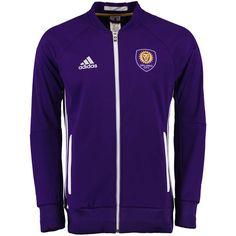 Orlando City SC adidas Anthem Full Zip Jacket - Purple - $99.99