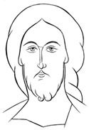 Image of Christ Paint Icon, Images Of Christ, Byzantine Icons, Religious Icons, Orthodox Icons, Aurora Sleeping Beauty, Sketches, History, Drawings