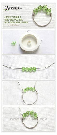 Wire Jewelry Rings, Handmade Wire Jewelry, Beaded Jewelry, Jewellery Box, Pandora Jewelry, Jewellery Shops, Jewlery, Jewellery Making, Wire Bracelets
