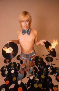 Don't let Iggy Pop anywhere near your records!