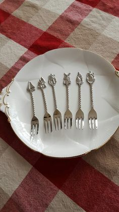 Nanas' forks from Holland being used at Christmas