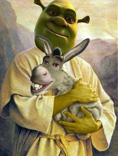 Shrek and Hitler together. Qts | Shrek is love, Shrek is ...