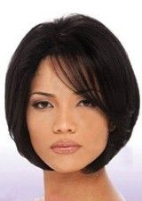 """Reusable 10"""" Silky Straight #2 Glueless 100% Indian Remy Human Hair Full Lace Wig"""