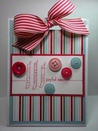 Peanuts and Peppers Papercrafting: Stampin' Up Designer Paper Gift Bags Tutorial