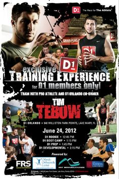 D1 Sports: D1 Orlando Prepares for Tim Tebow (June 24, 2012)