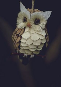 1 Dozen FX Owl Turkey Ornament Craft Kit