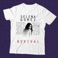 Camiseta Selena Gomez - Tracklist