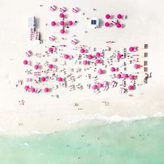 Impressive Aerial Beach Photography Taken While Hanging From A Helicopter's Skids