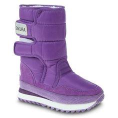 Sakura Snow Boots in PURPLE; I like them..