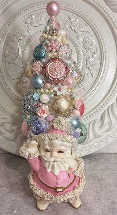 Ms Bingles Vintage Christmas: Disney's Frozen Christmas Display and More Bottle Brush Tree's...