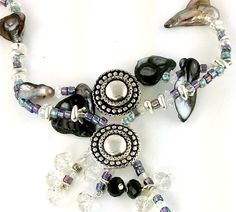 Mobile Boutique - Pearl and slider bead 2 hole necklace design, $0.00 (http://mobile-boutique.com/pearl-and-slider-bead-2-hole-necklace-design/)