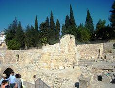 Cristianismo e Espiritualidade: Terra Santa: Piscina de Betesda e Igreja de Santa ...