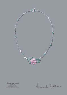 """""""Diorの愛した庭園""""をイメージしたハイジュエリー上陸   Fashionsnap.com"""
