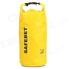 Brand: N/A; Quantity: 1; Color: Yellow; Material: PVC; Size: L; Other Features: High quality PVC and mesh cloth, no zipper or no seaming; The top is with soft plastic to fix the cloth to close the bag; The bag is made by high temperature and hot-pressing and cooling technique; Full seal, great for drift use, also can be as water bag for camping, convenient to carry and use; Packing List: 1 x Drift bag; http://j.mp/1kUbtP3