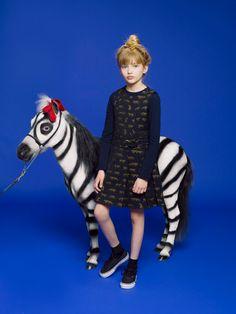 www.pegasebuzz.com | Horse in Fashion : Kenzo Kids fall-winter 2013 by Anna Schiffel