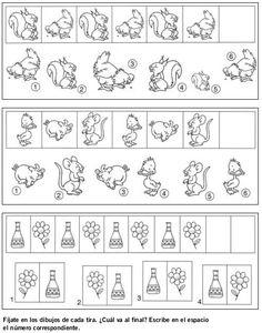 DOCENTECA - Divertidas Fichas De Razonamiento Lógico para primaria Teachers Corner, Kindergarten, Homeschool, Words, Spanish, Activities, Inference, Preschool Math, Drawing For Kids