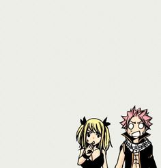 Natsu and Lucy - Fairy Tail.