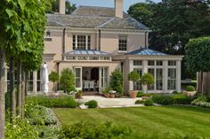 Orangery with Bi-fold Doors - traditional - Exterior - Other Metro - Vale Garden Houses Orangerie Extension, Orangery Extension Kitchen, House Extension Design, House Design, Conservatory Design, Conservatory Kitchen, Glass Building, Roof Lantern, Traditional Exterior