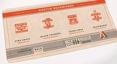 Logo and Iconography | Austin Beerworks | Helms Workshop