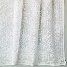 Cotton Lace Curtain Panels
