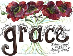 Grace Red Poppies Print