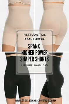 fdbc842f44b4b Spanx Higher Power High Waisted Shaper Shorts - SPX 2745. Best SpanxSlim  ControlFirm Control ShapewearSpanx ShapewearFull Body SuitThighsSexy ...