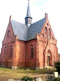 Kirche Gorschendorf LKr. Demmin, Germany