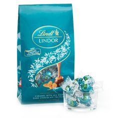 Caramel with Sea Salt Dark Chocolate LINDOR Truffles 75-pc Bag ~ OH PLEASE PLEASE PLEASE!!!