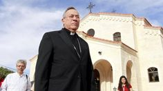 Cardinal Oscar Rodriguez Maradiaga, President of Catholic charity Caritas, pictured during a visit to the Regina Pacis Centre (Our Lady of Peace Church) in Amman, Jordan on May 18, 2014