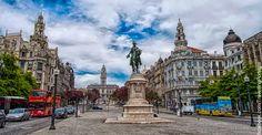 Avenida dos Aliados y Praça da Liberdade en el centro de Oporto | Portugal Turismo